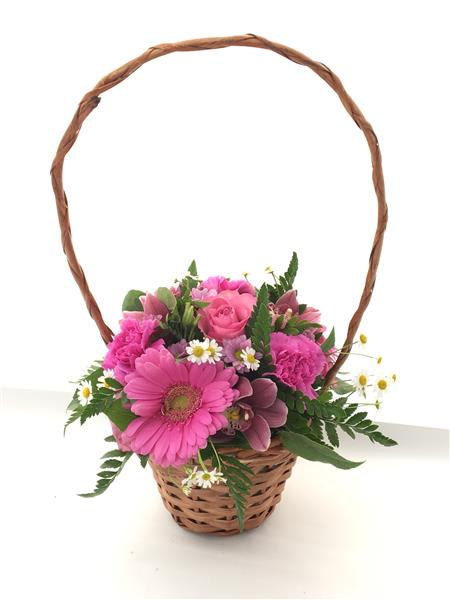 Flower Basket Delivery Malaysia : Flower basket same day delivery townend florist sheffield