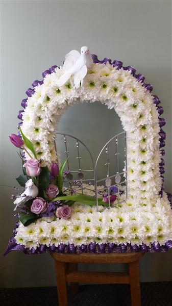 Gates Of Heaven Funeral Flowers By Townend Florist In Sheffield
